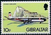 Gibraltar 1982 Airplanes f