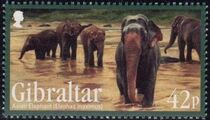 Gibraltar 2011 Endangered Animals c