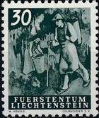 Liechtenstein 1951 Farm Labor f