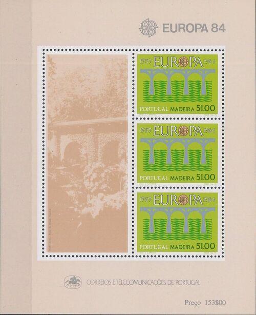 Madeira 1984 Europa d