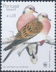 Madeira 2002 WWF Birds from Madeira b