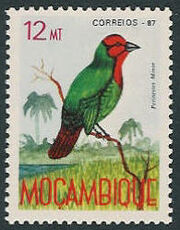 Mozambique 1987 Birds of Moçambique (Third Issue) d