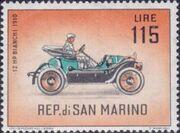 San Marino 1962 Automobiles (pre-1910) n