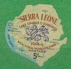 Sierra Leone 1964 New York World's Fair - Regular Stamps g
