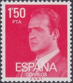 Spain 1976 King Juan Carlos I - 1st Group a