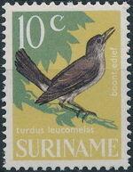 Surinam 1966 Birds h