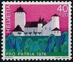 Switzerland 1976 PRO PATRIA - Castles c
