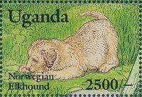 Uganda 1993 Dogs j