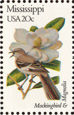 United States of America 1982 State birds and flowers w