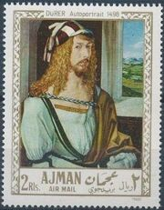 Ajman 1968 Paintings g