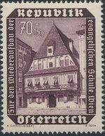 Austria 1953 Surtax for the Reconstruction of the Lutheran School in Vienna a