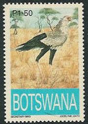 Botswana 1993 Endangered eagles d