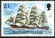 Falkland Islands 1989 Ships of Cape Horn n