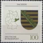 Germany, Federal Republic 1994 Coat of Arms of the Federal States of Germany (3rd Group) b