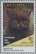 Grenada Grenadines 1995 100th Anniversary of Sierra Club - Endangered Species m