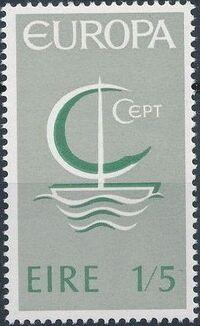 Ireland 1966 Europa b
