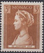 Monaco 1957 Birth of Princess Caroline c