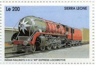 Sierra Leone 1995 Railways of the World ca