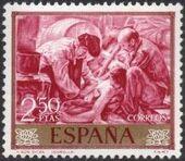 Spain 1964 Painters - Joaquin Sorolla y Bastida g