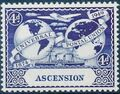 Ascension 1949 75th Anniversary of Universal Postal Union UPU b.jpg