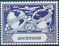 Ascension 1949 75th Anniversary of Universal Postal Union UPU b