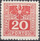 Austria 1945 Coat of Arms and Digit g