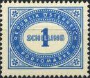 Austria 1947 Postage Due Stamps - Type 1894-1895 with 'Republik Osterreich' w