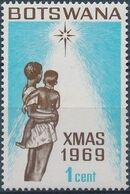 Botswana 1969 Christmas a