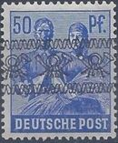 British and American Zone 1948 Overprinted with Posthorn Ribbon m