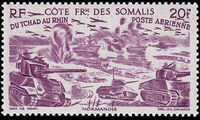 French Somali Coast 1946 Chad to Rhine d