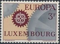 Luxembourg 1967 EUROPA - CEPT a