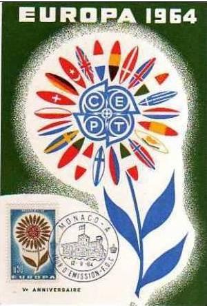 Monaco 1964 Europa mb