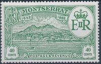 Montserrat 1982 350th Anniversary of Settlement of Montserrat by Sir Thomas Warner a
