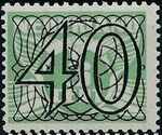 Netherlands 1940 Numerals - Stamps of 1926-1927 Surcharged k