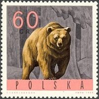 Poland 1965 Forest Animals e