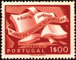 Portugal 1954 National Literacy Campaign b