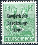 Russian Zone 1948 Overprint - Sowjetische Besatzungs Zone q