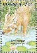 Uganda 1991 Animals of Uganda's Wetlands c