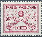 Vatican City 1929 Conciliation Issue g