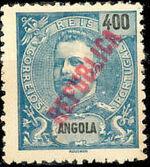 Angola 1914 D. Carlos I Overprinted h