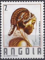 Angola 1987 Traditional Hairstyles d