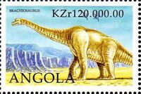 Angola 1998 Prehistoric Animals (3rd Group) d