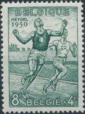 Belgium 1950 European Athletic Games e