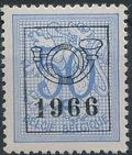 Belgium 1966 Heraldic Lion with Precancellations h
