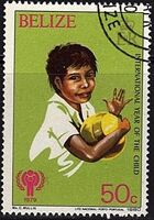 Belize 1980 International Year of the Child b