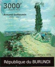 Burundi 2012 Paintings by Armand Guillaumin i