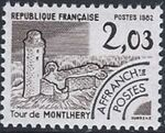 France 1982 Historic Monuments - Pre-cancelled (4th Issue) d