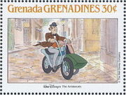 Grenada Grenadines 1988 The Disney Animal Stories in Postage Stamps 6d