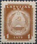 Latvia 1940 Arms of Soviet Latvia l