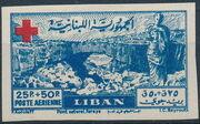 Lebanon 1947 Surtax for the Red Cross g